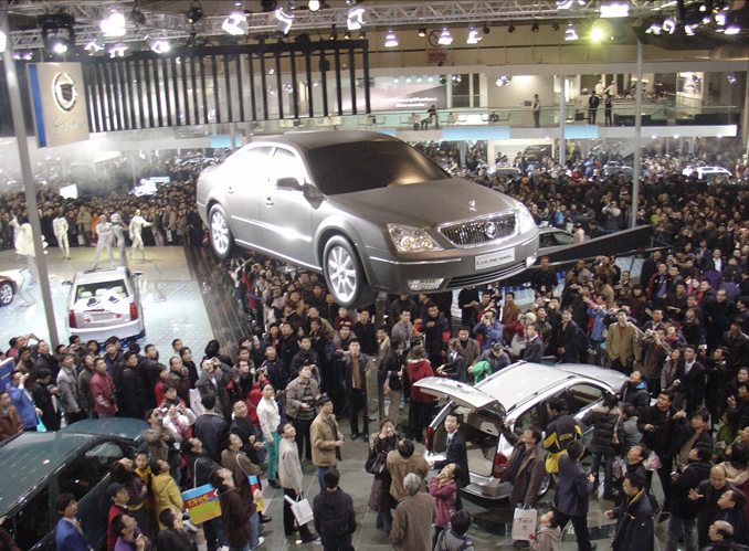 flying car buick lacrosse shanghai motor show